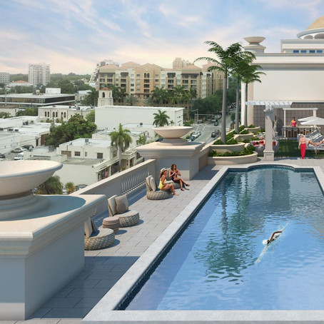 Miami's Giralda Place tops off in Coral Gables