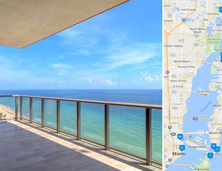 The week in luxury: A map of Miami-Dade's priciest condo sales