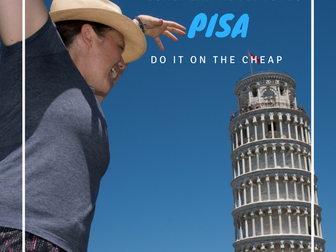 Follow us to Pisa, Italy