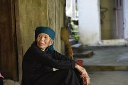 Giay woman, Lao Chai, Vietnam
