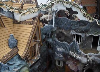 Gaudi inspired architecture in Vietnam
