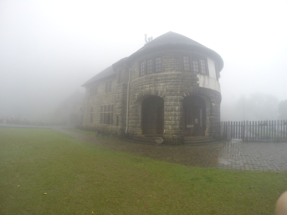 Adisham Monastery in the atmospheric fog, Haputale, Sri Lnaka - Life Itinerant