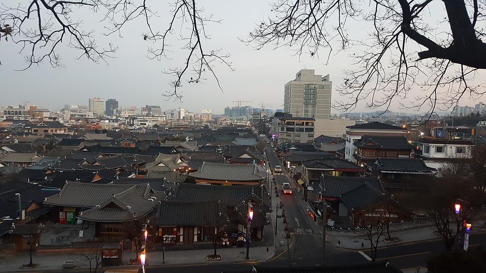 Omokdae , Jeonju, South Korea- Life Iitenerant
