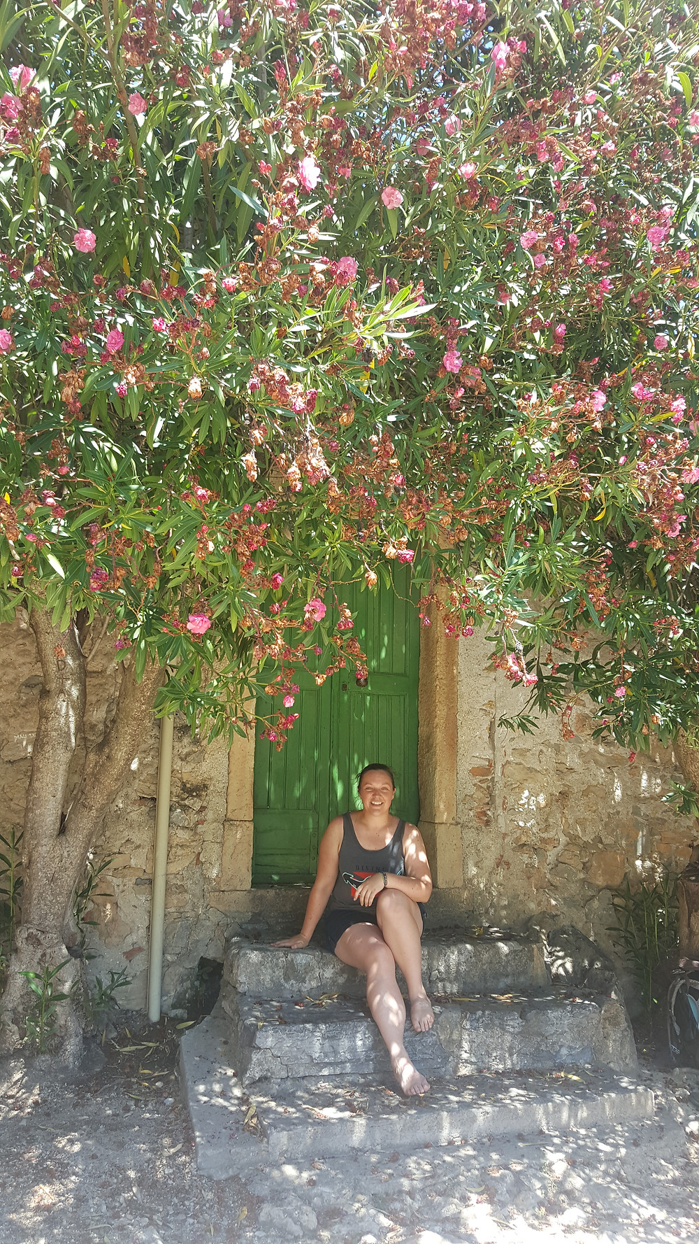 under the blossoming trees, Finalborgo, liguria, italy - life itinerant