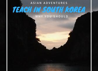 Why teach English in South Korea?