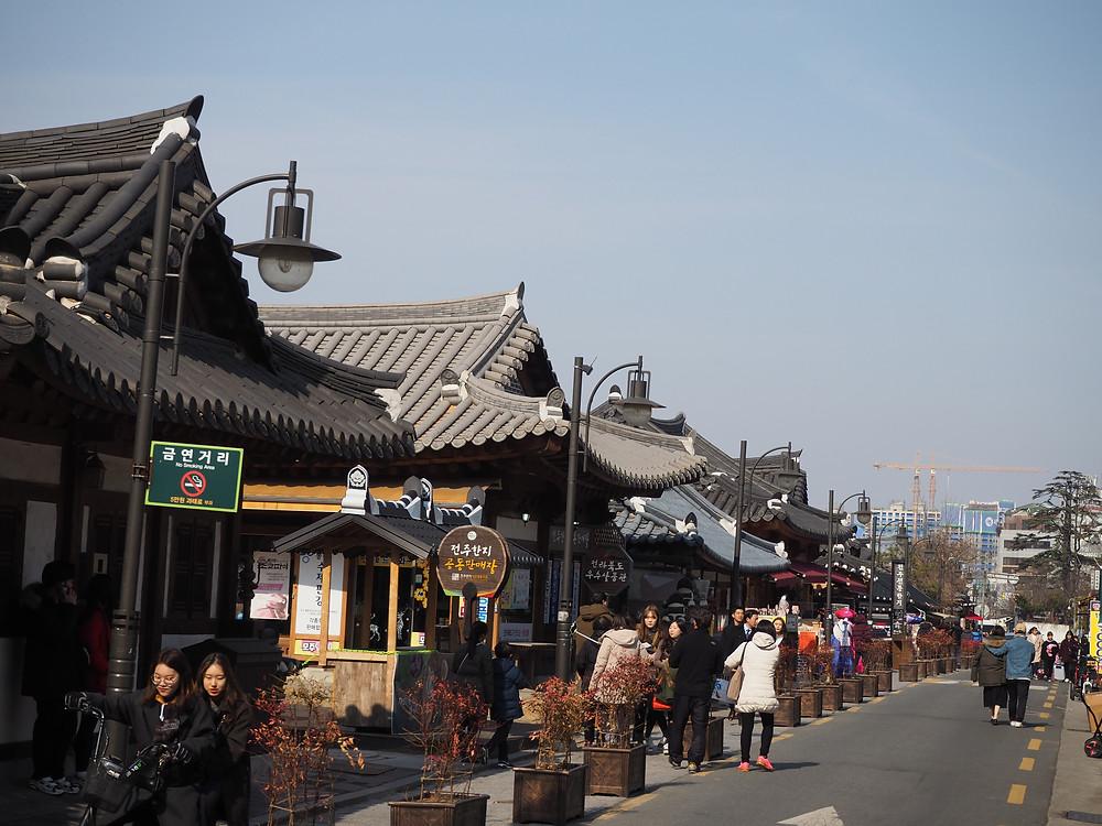 Jeonju's Hanok Village, Jeonju, South Korea - Life Itinerant
