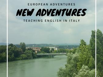 New adventures in Italy