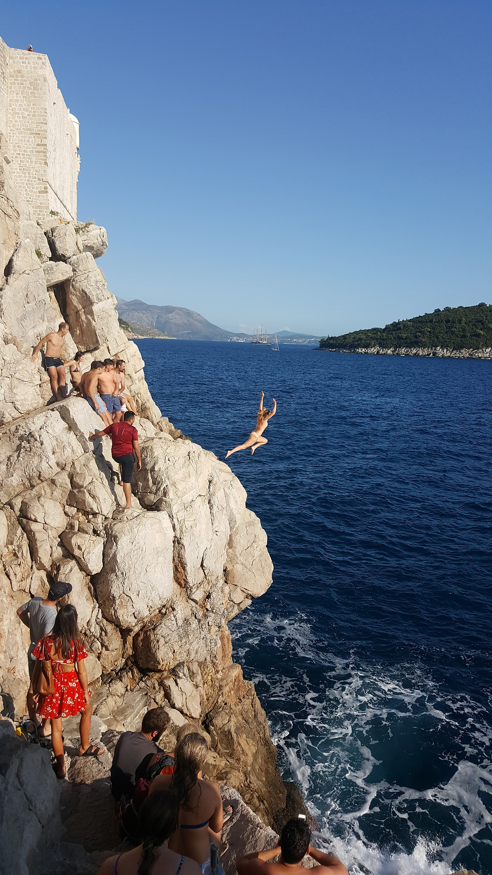 Cliff jumping in Croatia - Life Itinerant