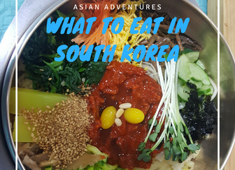 What to eat in South Korea