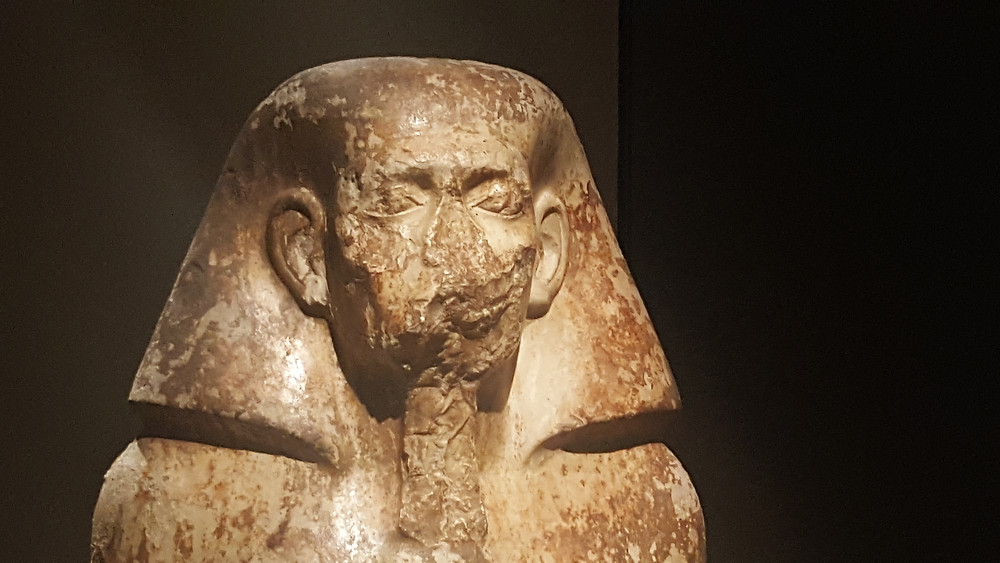 Part of the Egypt museums exhibition in Turin, Italy - Life Itinerant