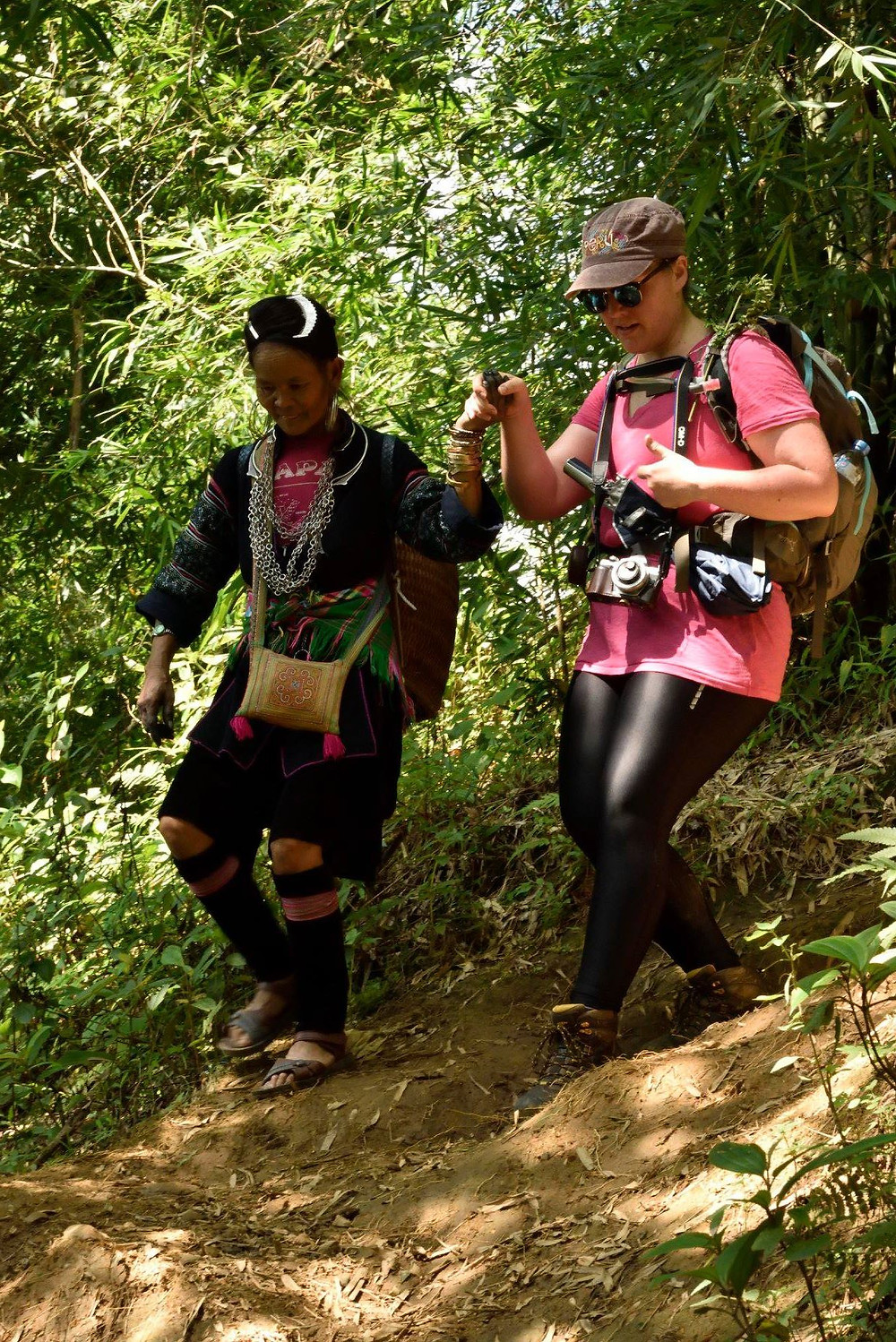 Trekking the hills of Sapa, Vietnam with the assistance of a H'mong woman and Sapa Sisters, Life Itinerant