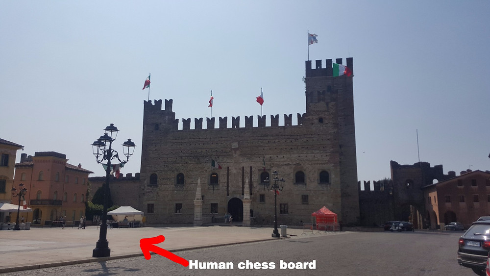 Marostica and it's human chess board - Life Itinerant