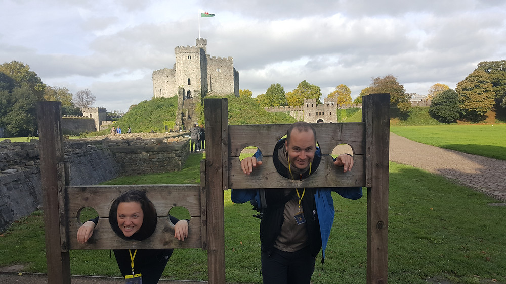 All locked up at Cardiff Castle - Life Itinerant
