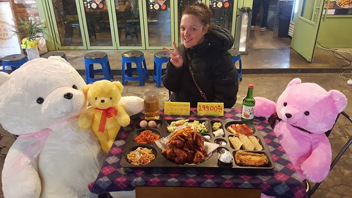 Eating out with my friends in Seoul - Life Itinerant