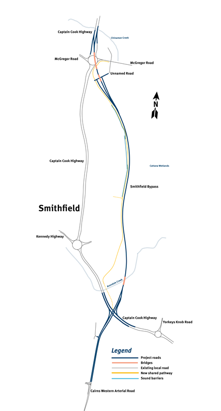 Smithfield Bypass Simplified Alignment.p