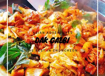 Chuncheon, the home of dakgalbi
