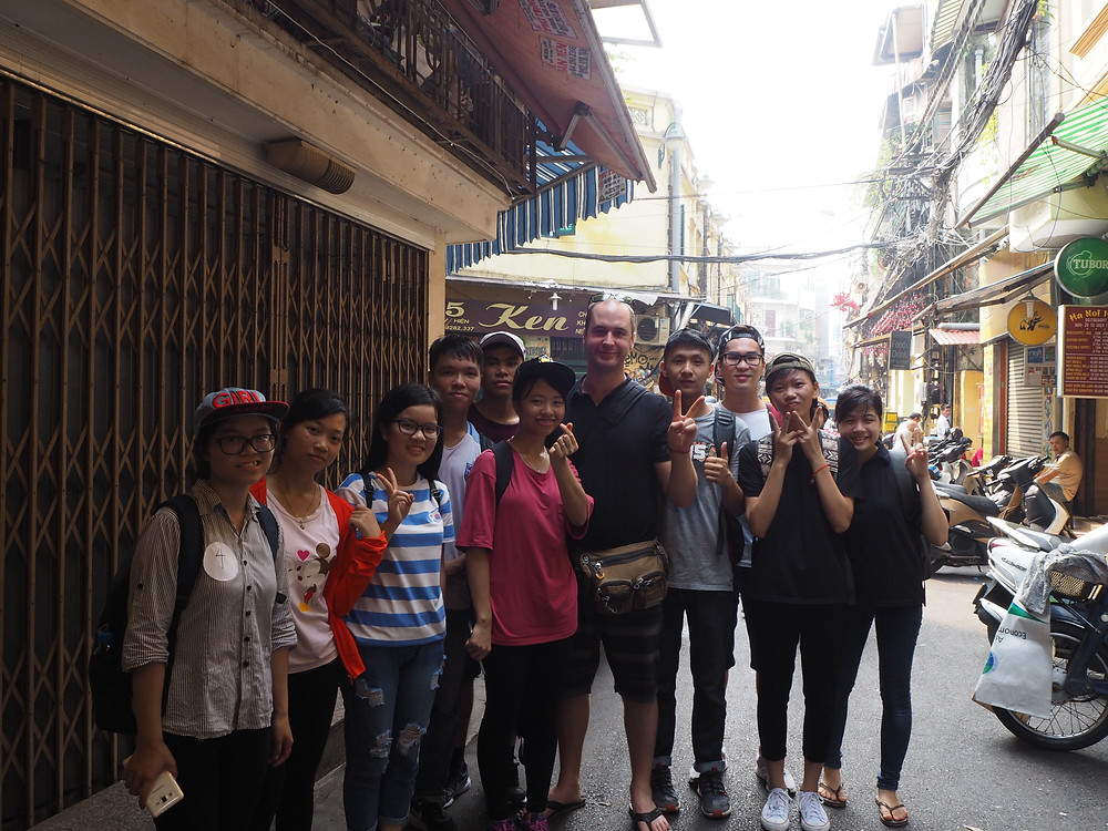 Practicing English in Vietnam - Life Itinerant