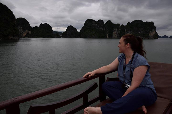 Dreaming of new adventures looking over HaLong Bay, Vietnam. Read more about our adventures here - life Itinerant
