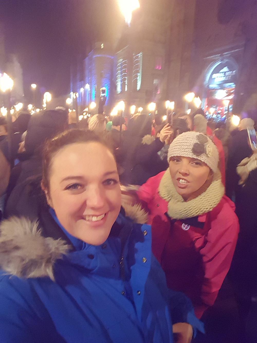 Torchlight Procession, Edinburgh, Scotland - Life Itinerant