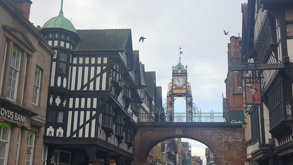 The streets of Chester, England - Life Itinerant