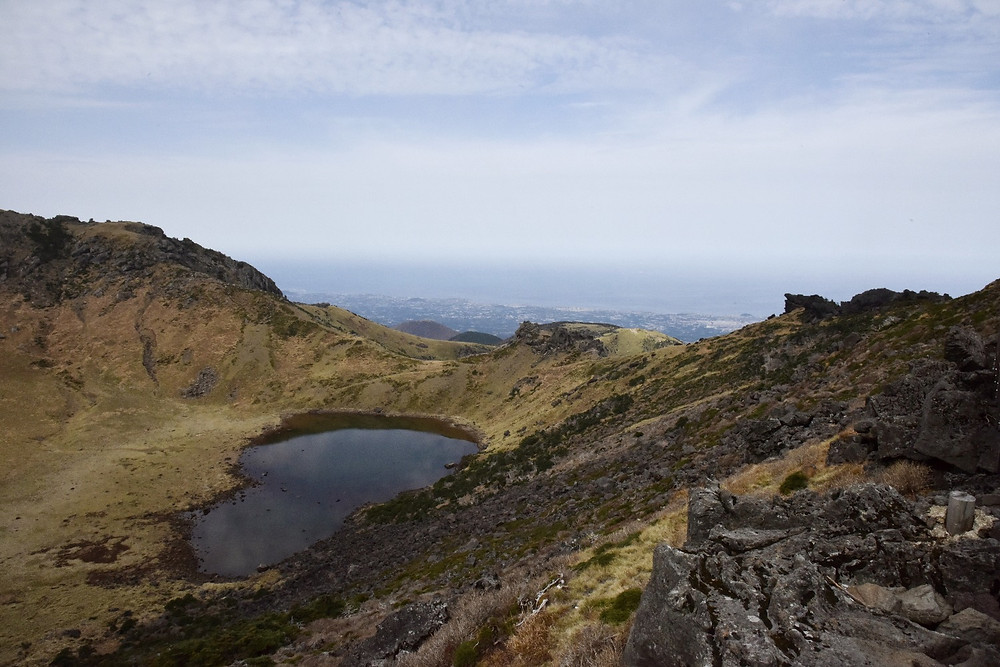 The view from the top of Hallasan, Jeju-do, South Korea - Life Itinerant