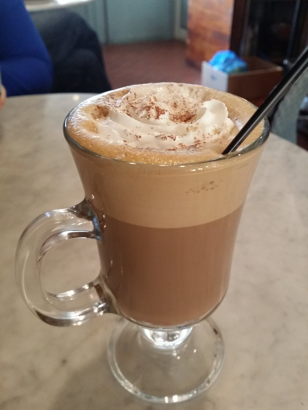 Hot chocolate with espresso and Baileys, Fat Cat, HBC - Life Itinerant
