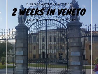 Two weeks in Vento, Italy