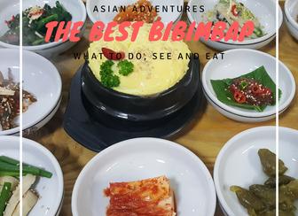 The best bibimbap in Jeonju