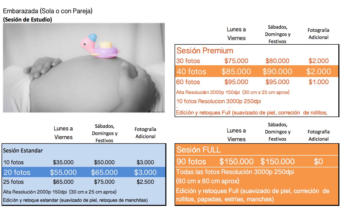 Sesion Embarazada + Pareja
