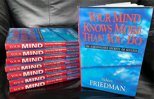 Sidney Friedman's #1 best-selling book