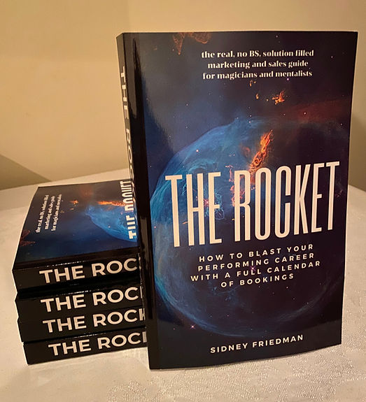 Sidney Friedman's THE ROCKET for sales and marketing