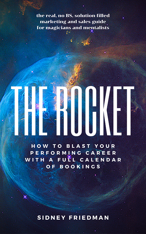 THE ROCKET sales book by Sidney Friedman