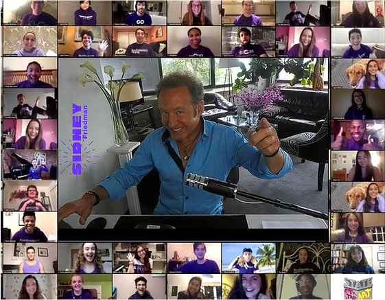 mentalist Sidney Friedman's ZOOM virtual performance