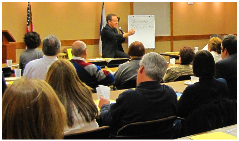 Sidney Friedman's corporate Mind Power Seminar