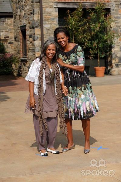 2 Amazing Former BlackFirst Ladies: 'FLHAITI' & 'FLOTUS'