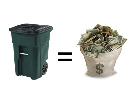 Turn  Your Garbage into WEALTH!