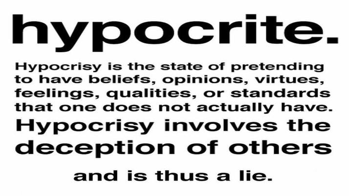 Trump v. White Hypocrites & Others