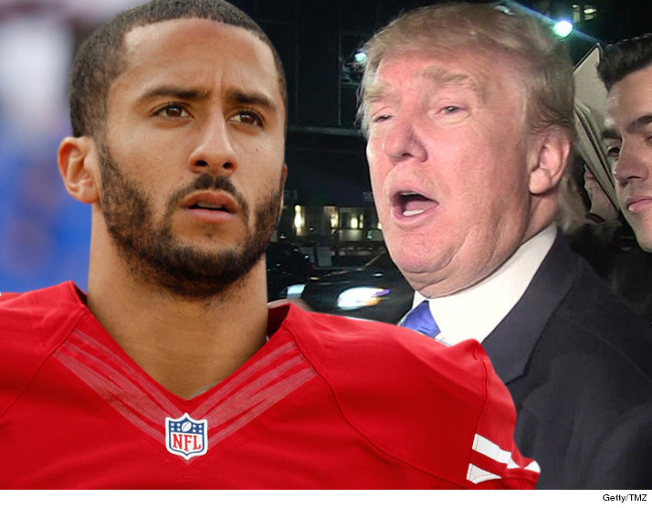 "Trump to Colin Kaepernick ""find a country that works better for you"""