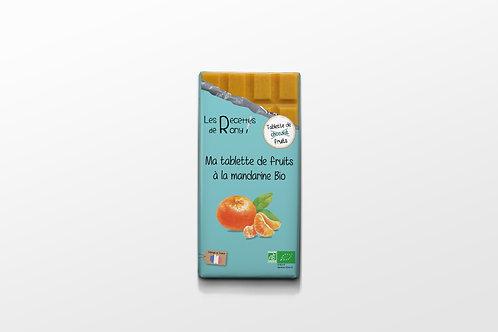Tablette de fruits à la mandarine BIO