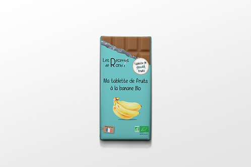 Tablette de fruits à la banane BIO