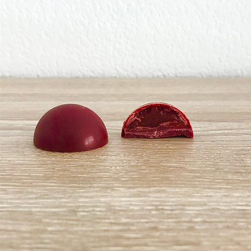 Bonbon moulé Fraise - Framboise