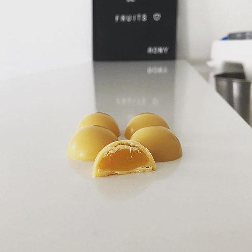 Bonbon moulé Mangue - Banane - Fruit de la passion
