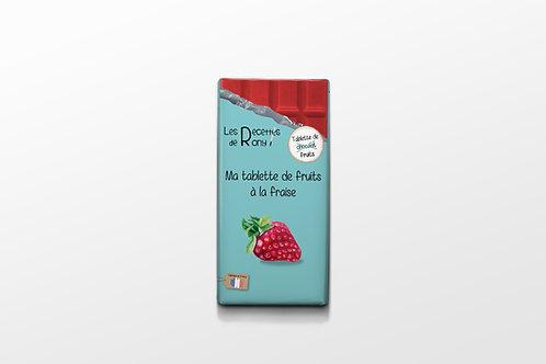 Tablette de fruits la fraise