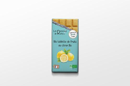 Tablette de fruits au citron BIO