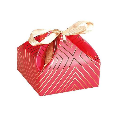Boîte Victorine incluant 4 bonbons moulés