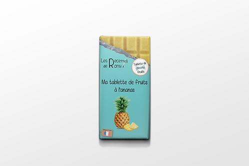 Tablette de fruits à l'ananas