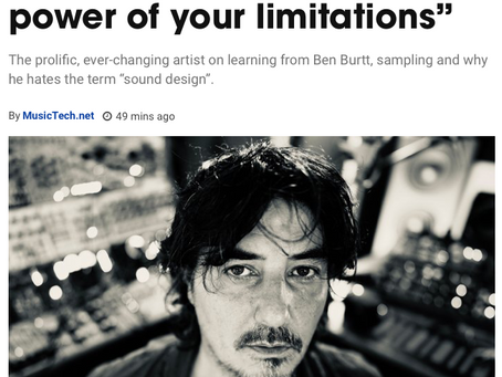 """Amon Tobin: """"Get lost in the power of your limitations"""""""