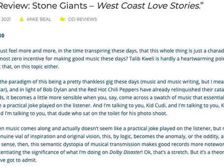 Dolby Disaster reviews Stone Giants