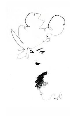 Zeichnung von Ekaterina Koroleva Marlène
