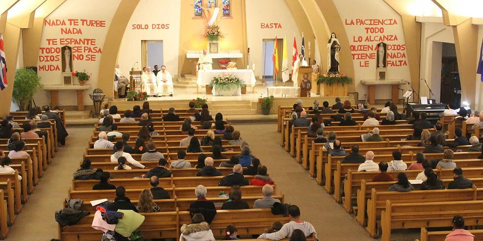 Misa Domingo 11 de Abril - 1:00 P.M.